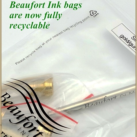 Our pen kit bags are now recyclable