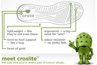 Crocs Technology