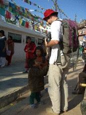 Richard in Kathmandu