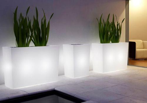 Luminous planter