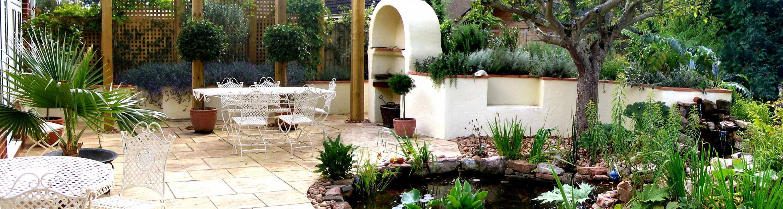Hardy exotic garden design