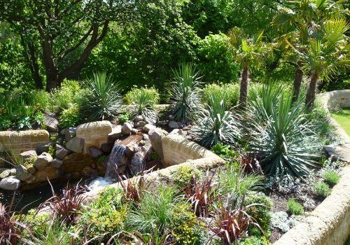 Mediterranean garden design
