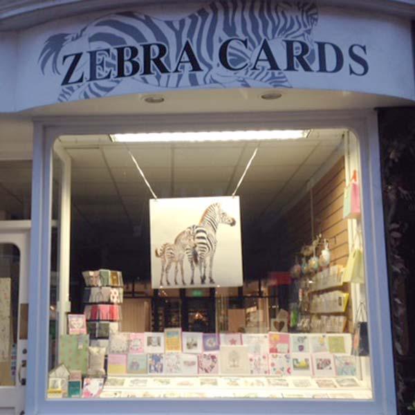 Zebra Cards in Tunbridge Wells