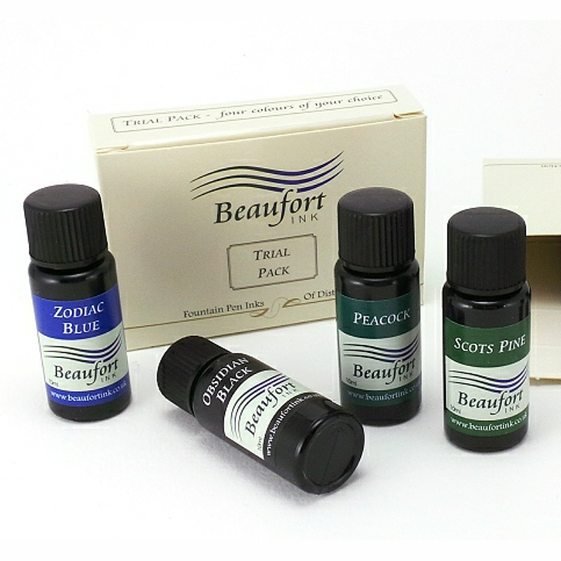 Check out our boutique range of sumptuous fountain pen inks