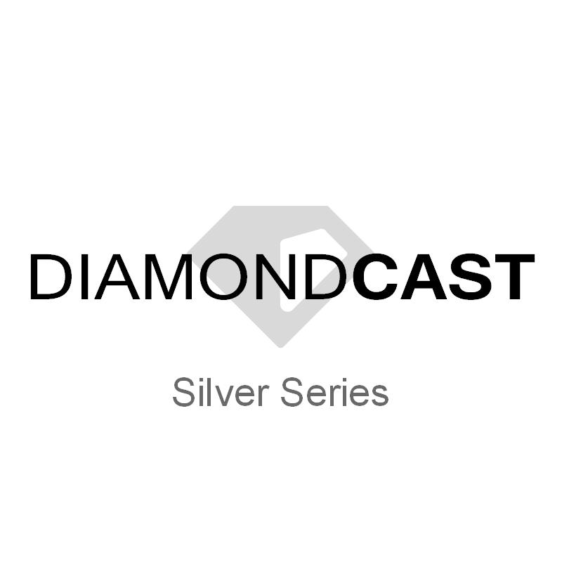 DiamondCast silver series pen blanks
