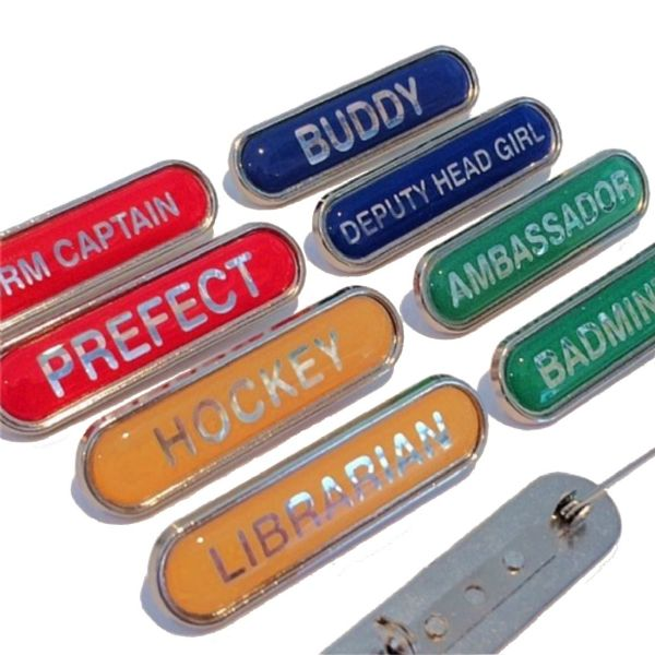 School Bar Badges