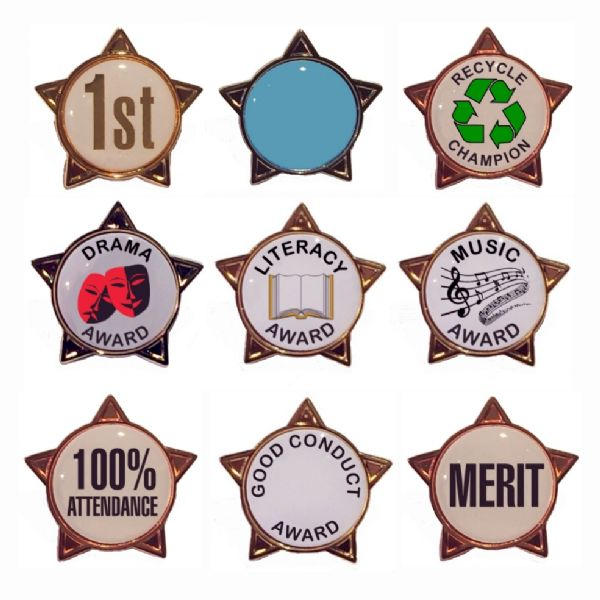 star badges for schools