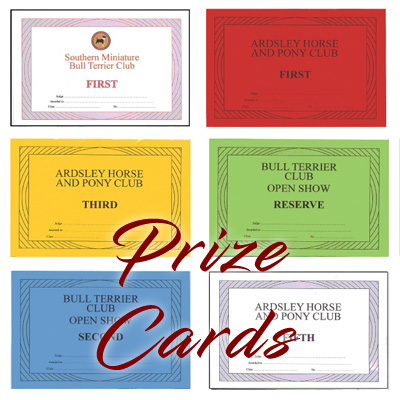 Prize Cards