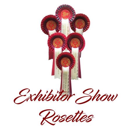 Exhibitor Show Rosettes