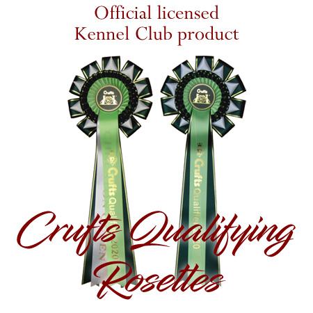Crufts Qualifying Rosettes