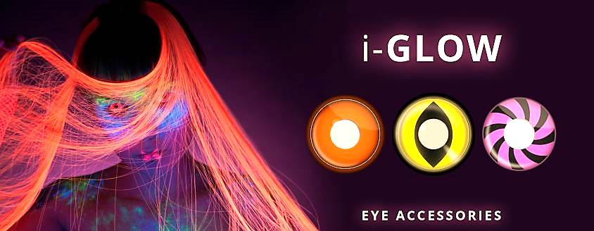 Party Eye Contacts Banner