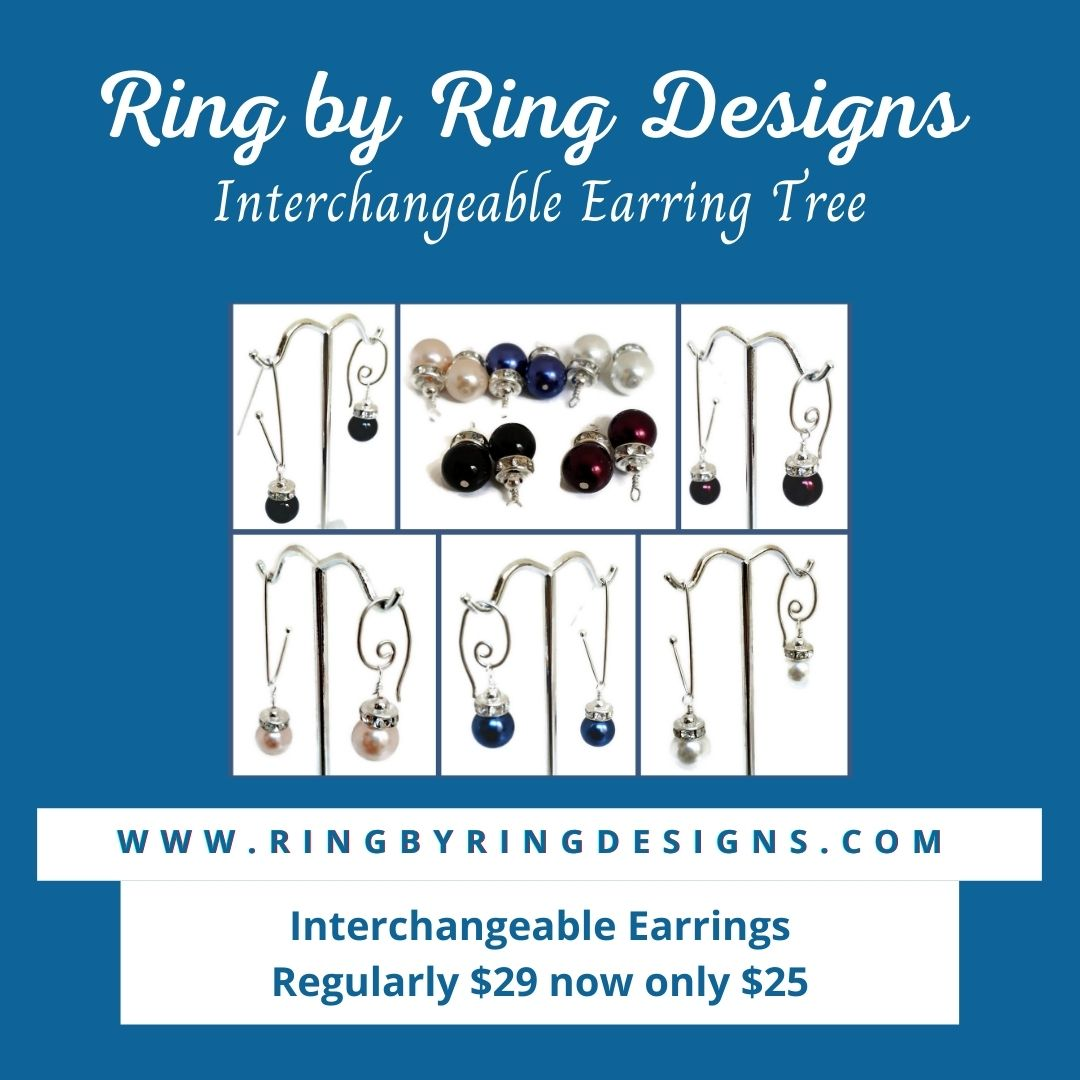 Interchangeable Earrings