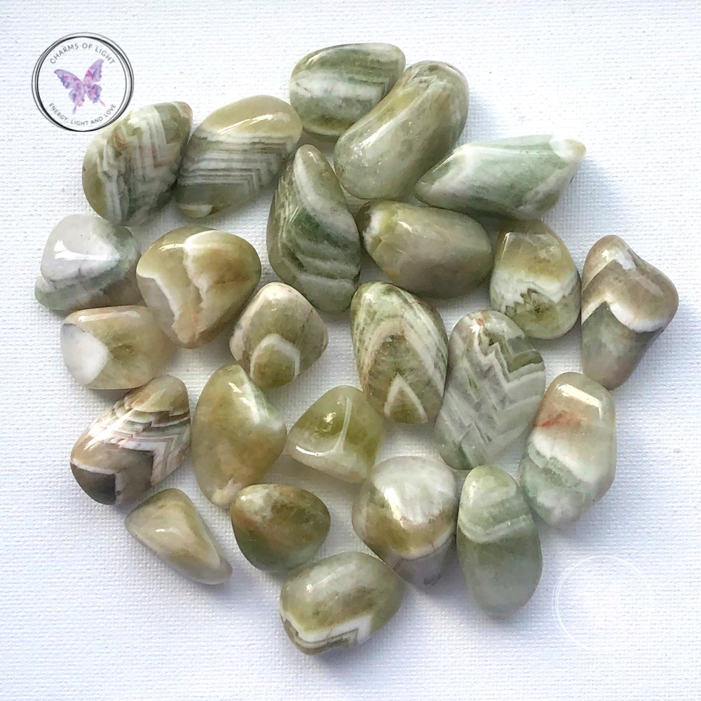 Prasiolite - Green Quartz Crystal