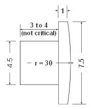 Mistral ballpoint pen and pencil accent cabochon diagram